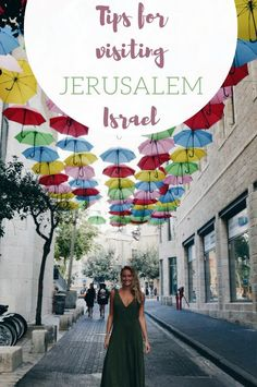 Jerusalem was my first place to explore in Israel and I'm glad of that. It's much easier to navigate than huge Tel Aviv and has a smaller town vibe making it a place you can ease into Israel. Jerusalem Israel, Tel Aviv Jerusalem, Best Vacation Destinations, Best Vacations, European Travel, Asia Travel, Travel Tips, Travel Ideas, Oh The Places You'll Go