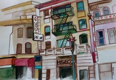 Carmen Stanescu - Google+ Sign, Google, Watercolor Painting, Signs