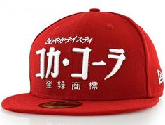 Coca-Cola International Japanese 59Fifty Fitted Baseball Cap by COCA-COLA x NEW ERA