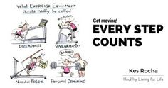 EVERY STEP COUNTS! Did you know that even a little bit of activity can potentially reduce mortality levels?
