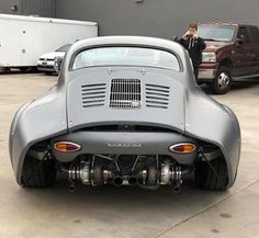 Porsche 356 RSR – Old sport cars – Porsche – Super Autos Porsche Sports Car, Porsche Cars, Porsche Sportwagen, Old Sports Cars, Porsche 356 Speedster, Weird Cars, Modified Cars, Amazing Cars, Hot Cars