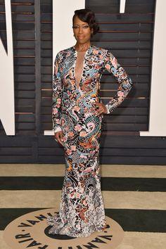 Regina King at the VF Oscar party