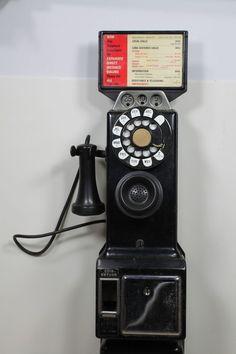 Antique 1920-1930 Payphone #PayPhone