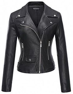 Shop a great selection of Tanming Tanming Women s Faux Leather Moto Biker  Short Coat Jacket. Find new offer and Similar products for Tanming Tanming  Women s ... 5dee84afb