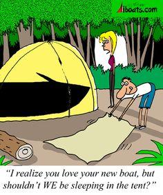 RV, Joe Schmidt, Winding Roads, Cartoon, campground ...