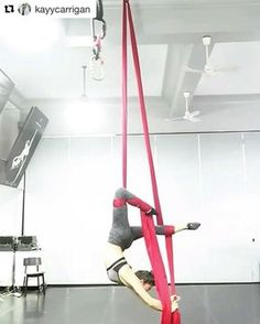 """1,858 Likes, 36 Comments - AERIAL PHYSIQUE (@aerialphysique) on Instagram: """"Aerial Physique's lovely instructor @kayycarrigan getting creative! Local to Los Angeles? Check out…"""""""