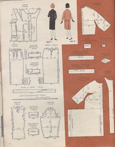 From Russia: retro sewing patterns, 60-s - SSvetLanaV - Веб-альбомы Picasa