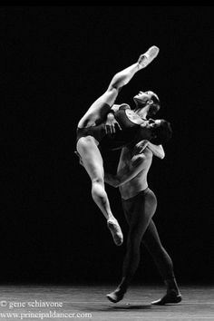 "Sofiane Sylve and Marcelo Gomes in ""Tempting Fate"" taken at YAGP (Youth America Grand Prix) by Gene Schiavone"