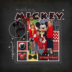 Page idea... Meeting Mickey.