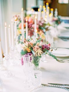 Elegant & Pretty Table Scape Styled by Natalie Hewitt - Caroline Castigliano 'Love Is In The Air' Collection | Gorgeous Pink Floral Wedding Inspiration | Planning and Shoot Direction by Natalie Hewitt | Images by Wookie Photography