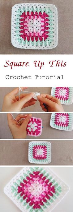 Crochet Square – Easy to Make (Tutorial) - Design Peak