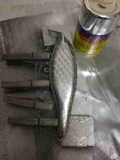 How To Make Fishing Lures: Making Crankbaits - Super Shad Rap Copy