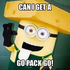 Go Pack Go minion