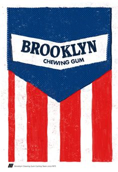 Cycling jersey poster of Brooklyn cycling team by Mission20FIFTEEN, $30.00