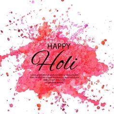 Watercolor Imitation Multicolored Background With Quot; Holi Photo, Holi Festival Of Colours, Hindu Festivals, Mail Marketing, Happy Holi, Daily Inspiration, Lorem Ipsum, Background Images, Colorful Backgrounds