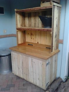 Uncle mark made this out of old pallets!