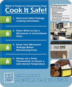 Food Safety Temperature Poster | Cook It Safe - Partnership for Food Safety Education