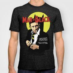 Man in Black T-shirt by Butcher Billy | Society6