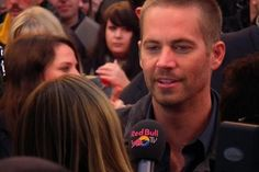 Paul Walker at FF6 Premier in London