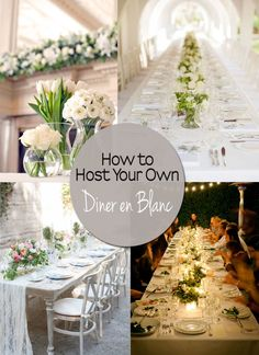 Did you miss buying tickets for the Vancouver event? Don't pout, we've put together a guide on how to host your own Diner en Blanc. Dinner Club, Dinner Table, Marilyn Monroe Wedding, White Dinner, Outdoor And Country, Outdoor Dinner Parties, All White Party, Night Garden, Le Diner