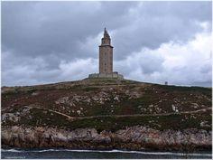Torre de Hércules. La Coruña  http://www.viajesenfamilia.it/