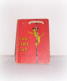 Vintage Children's Book The Fire Cat by by SheCollectsICreate