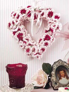 Ruffles and Roses Valentine Wreath
