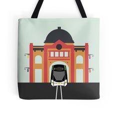 Melbourne Icon - Tram #totebag #bag #australia #accessories