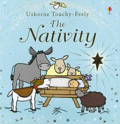 This is a gorgeous new Christmas edition from the popular and creative Usborne Touchy-Feely team. Charming illustrations by Rachel Wells accompany a delightful, tactile retelling of the Christmas story, complete with fluffy donkeys, woolly sheep, a glittering angel and, of course, the baby Jesus sleeping in his soft blanket. RRP: £9.99