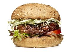 Garden Burgers from #FNMag #myplate #protein #veggies #grains