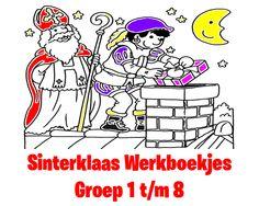 Sinterklaas Werkboekjes  Groep 1 t/m 8