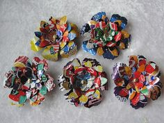 UPCYCLE ME I Blümchen-Magnete aus Getränkedosen Upcycle, Recycling, Design Inspiration, Upcycling Ideas, Magnets, Sheet Metal, Random Stuff, Projects, Deco