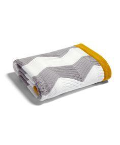 Patternology - Chevron Knitted Blanket (to fit Moses baskets, cribs, and pushchairs) - Patternology - New - Mamas & Papas
