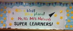 Super Hero Bulletin Board and more!  Checkout this great post on Bulletin Board Ideas! @Donna Brooks
