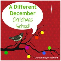 Christmas Schooling: Ideas for a fulfilling December @CindyWest10