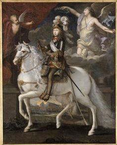 Louis 14 à cheval