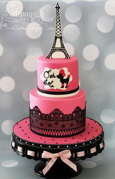 Pink Poodle In Paris