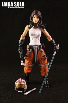 Jaina Solo (Star Wars) Custom Action Figure