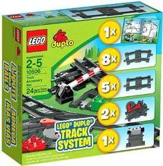 Amazon.com: Lego Duplo 10506 Train Accessory Set Track System: Toys & Games 36.49