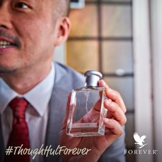Enchant someone with this perfume for men. #thoughtful #thoughtfulgift #christmas #holidays #holidayseason #presents #foreverliving #products #giftideas #giftidea #gits