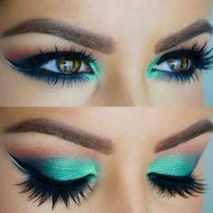 Milani 'Teal the Truth' baked eyeshadow