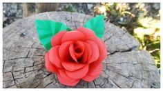 DIY Paper Roses