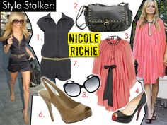 Nicole Richie is my style icon.