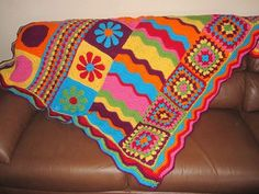 Image detail for -... _GxxzbBJC_f.jpg (craft,crochet,colorful,afghan,groovy