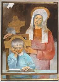 arcabas - Recherche Google Religious Icons, Religious Art, Images Of Mary, Religious Paintings, Scripture Art, Bible, Jesus Pictures, Children Images, Sacred Art