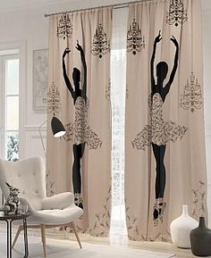 Are you looking to brighten up a dull room and searching for interior design tips? One great way to help you liven up a room is by painting and giving it a whole new look. Quilted Curtains, Fancy Curtains, Home Curtains, Curtains With Blinds, Window Curtains, House Plants Decor, Room Setup, Curtain Designs, Home Decor Kitchen