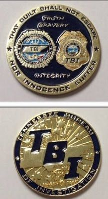 27 Best Tennessee LE Challenge Coins I Own images in 2014