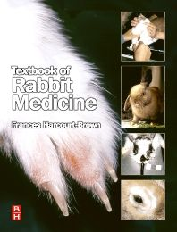 BOOK - Frances Harcourt-Brown  - Textbook of Rabbit Medicine 1st edition - Known as one of the best specialist Veterinarians in Rabbit Medicine and Care in the world