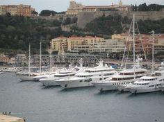 Port Hercule -- Monte Carlo, Monaco