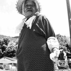 @kitao777 おばあちゃんとオロナミンC